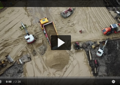 Jord-, kloak-, beton- og landskabsarbejde på Venligbolig